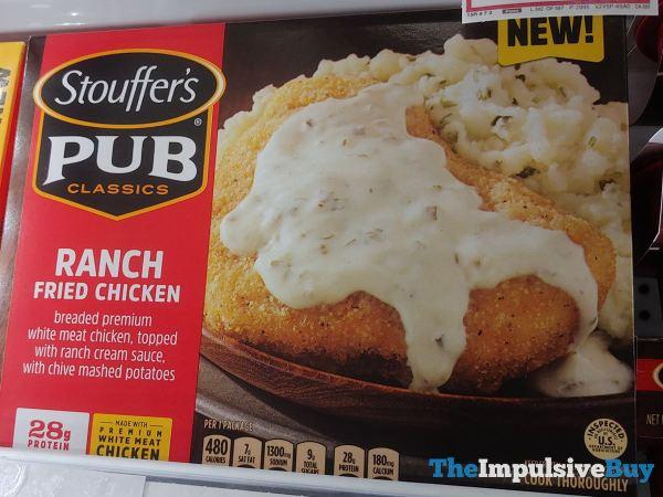 Stouffer s Pub Classics Ranch Fried Chicken