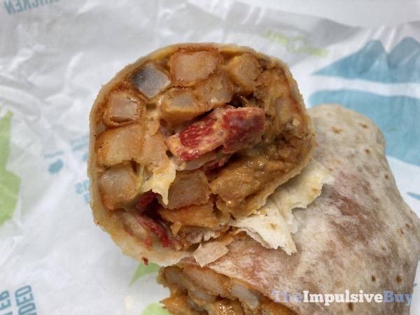 Taco Bell Loaded Fries Burrito Fist Bump