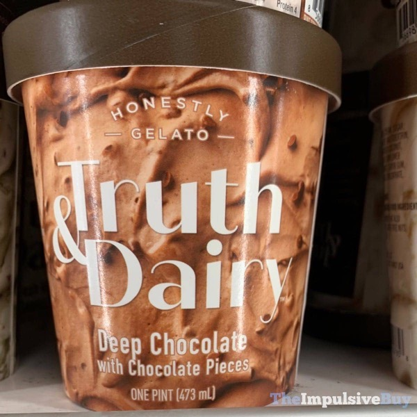 Truth  Dairy Deep Chocolate with Chocolate Pieces Gelato