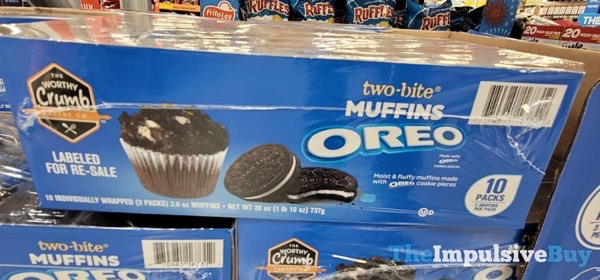 The Worthy Crumb Pastry Co Oreo Two Bite Muffins Box