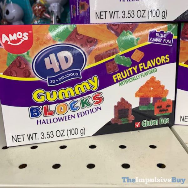 Amos 4D Gummy Blocks Halloween Edition
