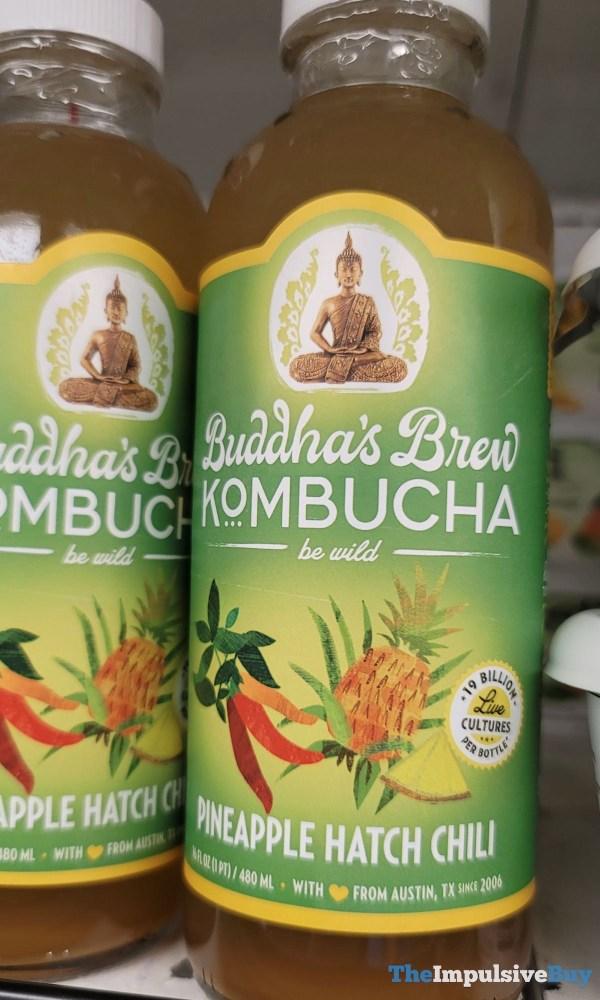 Buddha s Brew Kombucha Pineapple Hatch Chili