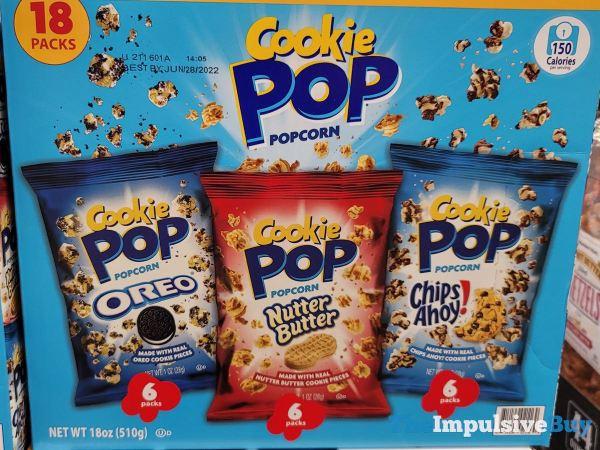 Cookie Pop Popcorn Nutter Butter