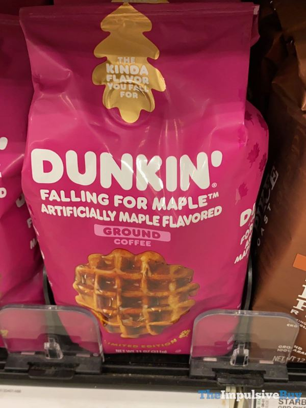 Dunkin Falling For Maple Ground Coffee
