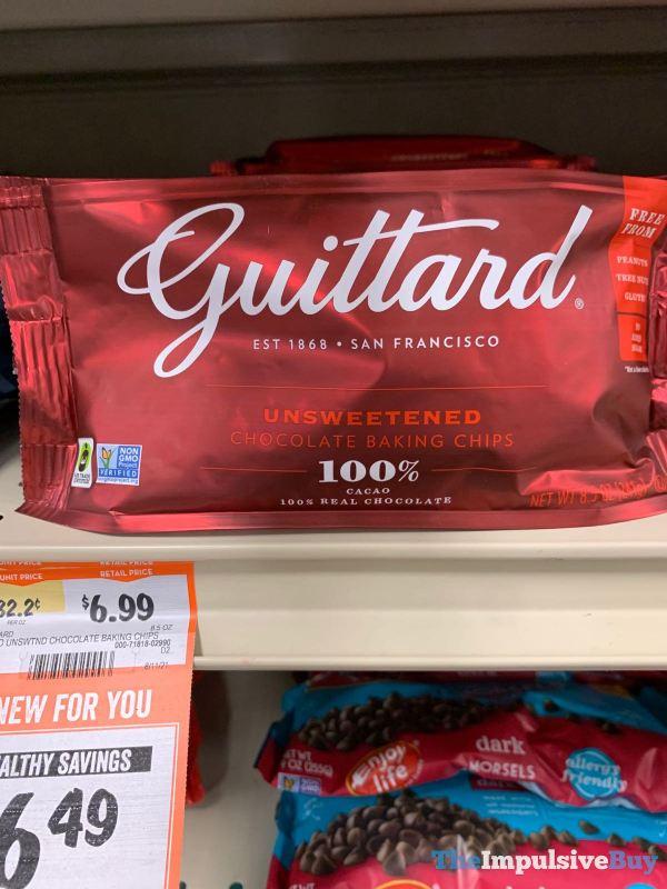 Guittard Unsweetened Chocolate Baking Chips