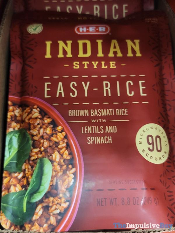 H E B Indian Style Easy Rice