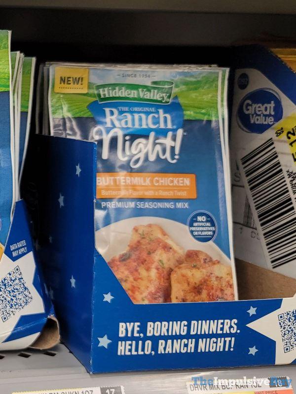 Hidden Valley Ranch Night Buttermilk Chicken Seasoning