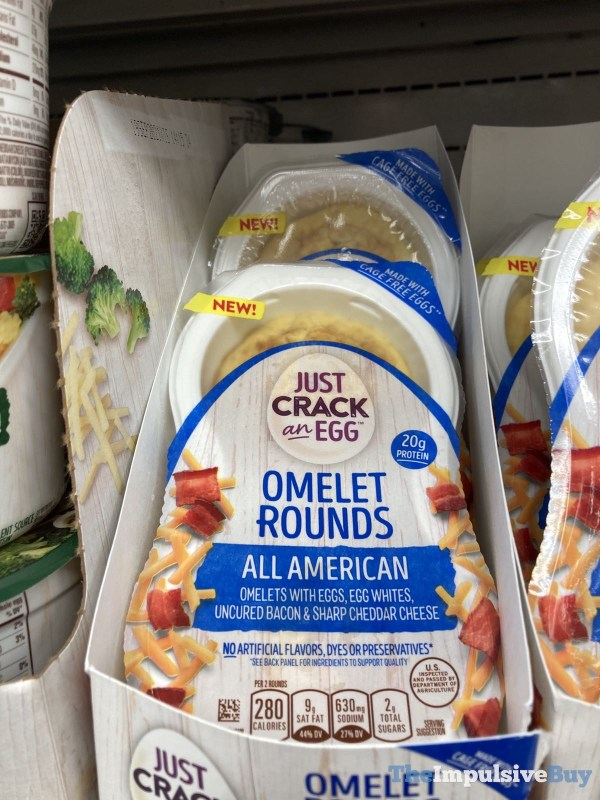Just Crack an Egg Omelet Rounds All American