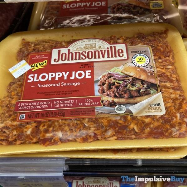 Johnsonville Sloppy Joe Seasoned Sausage