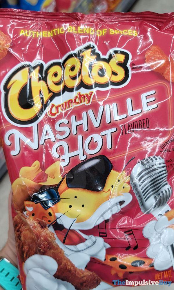 Nashville Hot Cheetos Crunchy