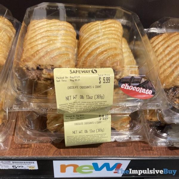 Safeway Chocolate Croissants