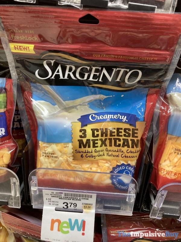 Sargento Creamery 3 Cheese Mexican