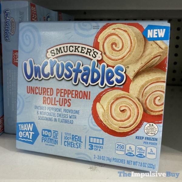 Smucker s Uncrustables Uncured Pepperoni Roll Ups