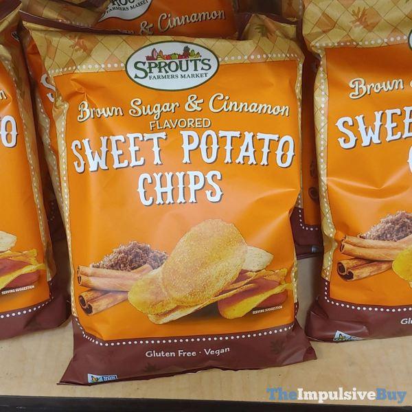 Sprouts Brown Sugar  Cinnamon Sweet Potato Chips