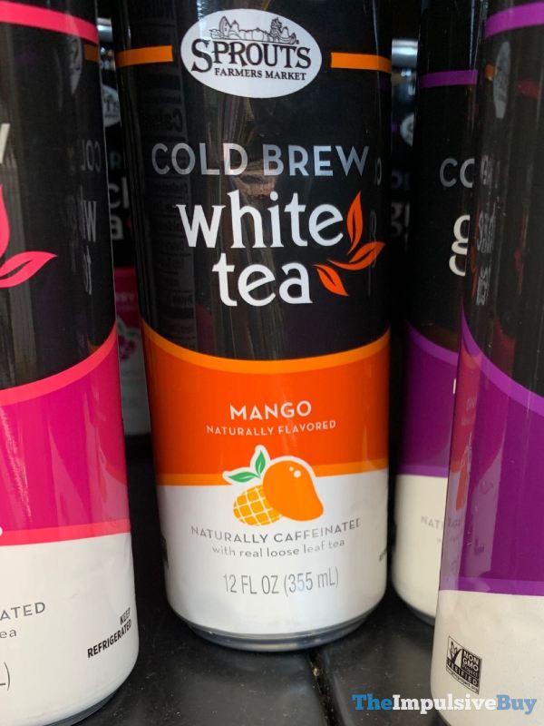 Sprouts Mango Cold Brew White Tea