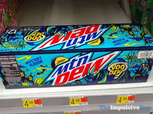 Mtn Dew VooDEW 2021 Mystery Flavor