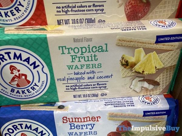 Voortman Limited Edition Tropical Fruit and Summer Berry Wafers