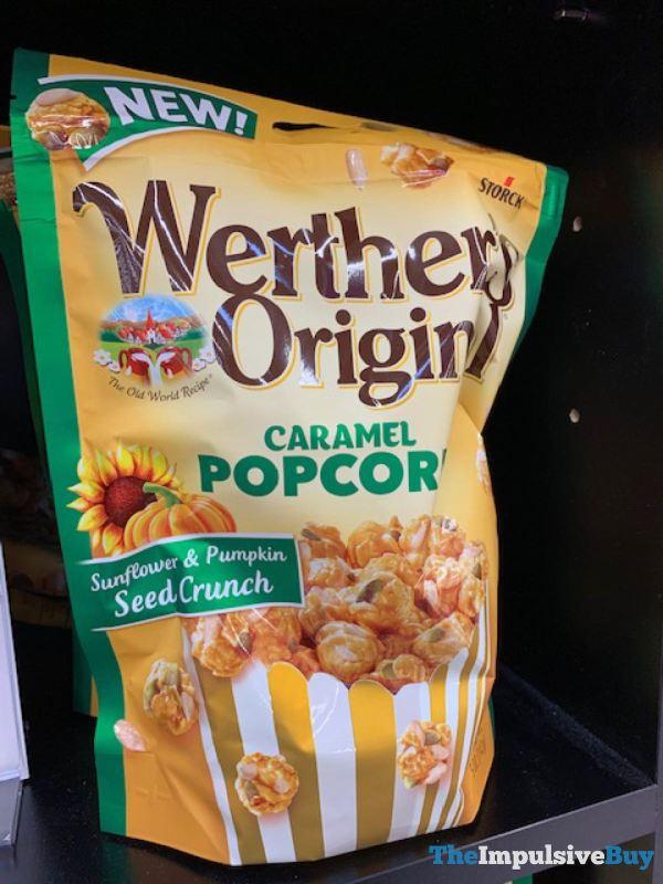 Werther s Original Caramel Popcorn Sunflower  Pumpkin Seed Crunch
