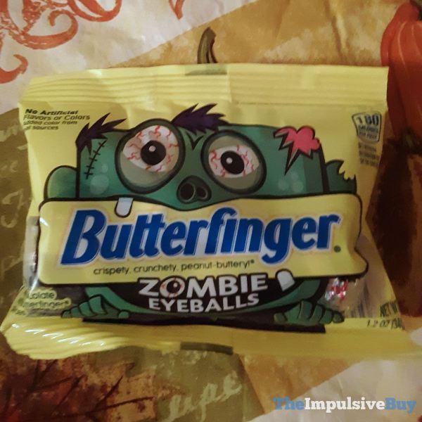 Butterfinger Zombie Eyeballs
