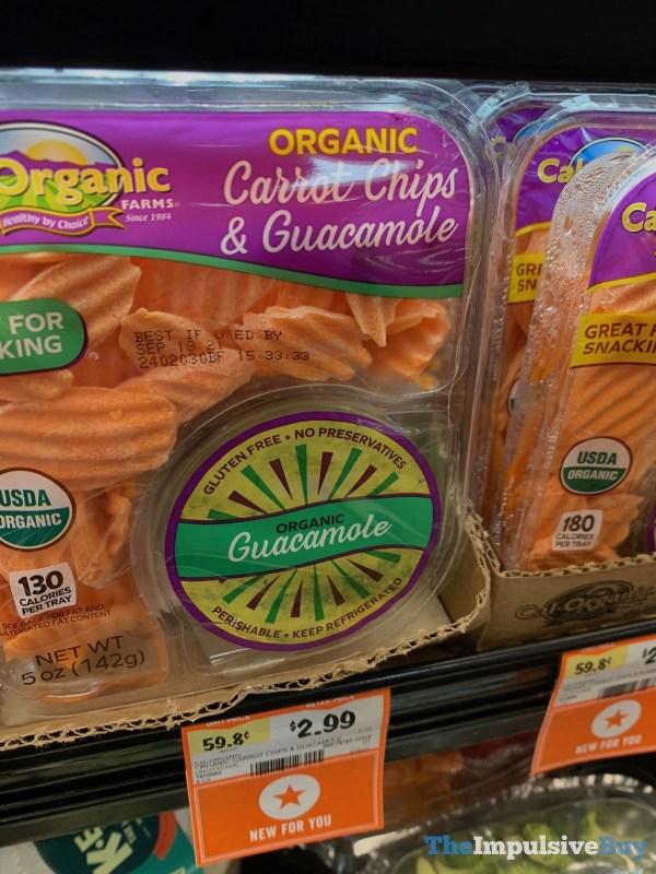 Cal Organic Farms Organic Carrot Chips  Guacamole