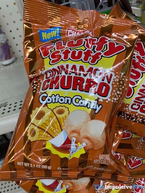 Charms Fluffy Stuff Cinnamon Churro Cotton Candy