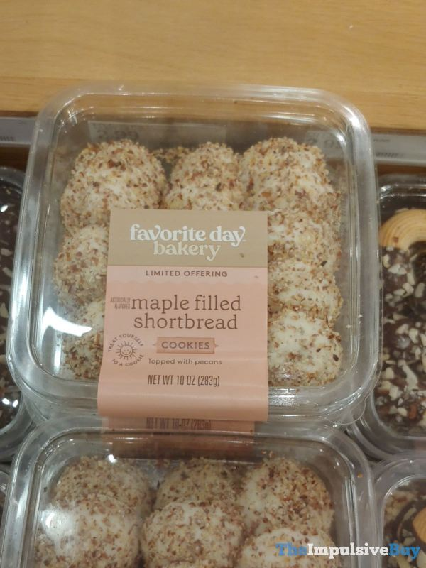 Favorite Day Bakery Limited Offering Maple Filled Shortbread Cookies