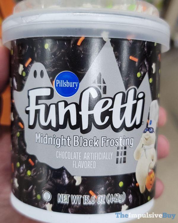 Pillsbury Funfetti Midnight Black Frosting
