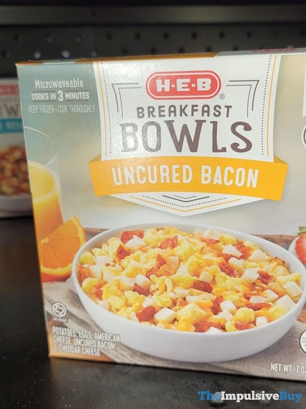 H E B Breakfast Bowls Uncured Bacon