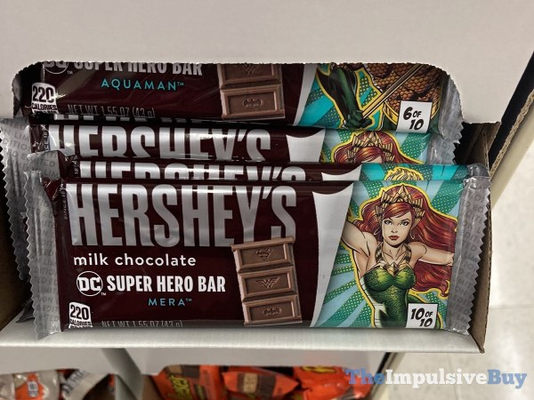 Hershey s Milk Chocolate DC Super Hero Bar Mera