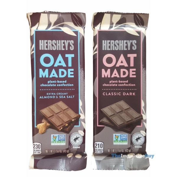 Hershey s Oat Made Chocolate Bars Wrappers