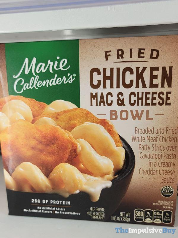 Marie Callender s Fried Chicken Mac  Cheese Bowl