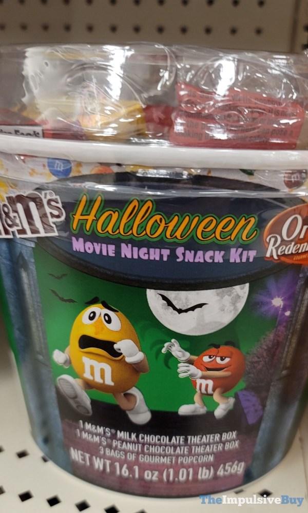 M M s Orville Redenbacher Halloween Movie Night Snack Kit