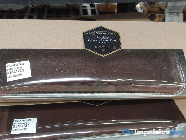 Marketside Double Chocolate Pie Bar