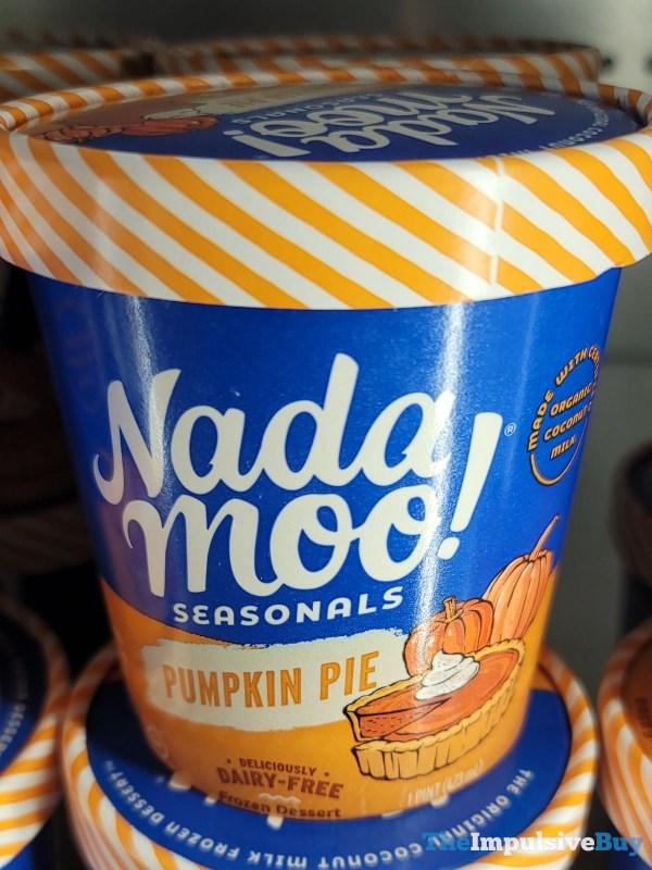 Nada Moo Seasonals Pumpkin Pie Dairy Free Frozen Dessert