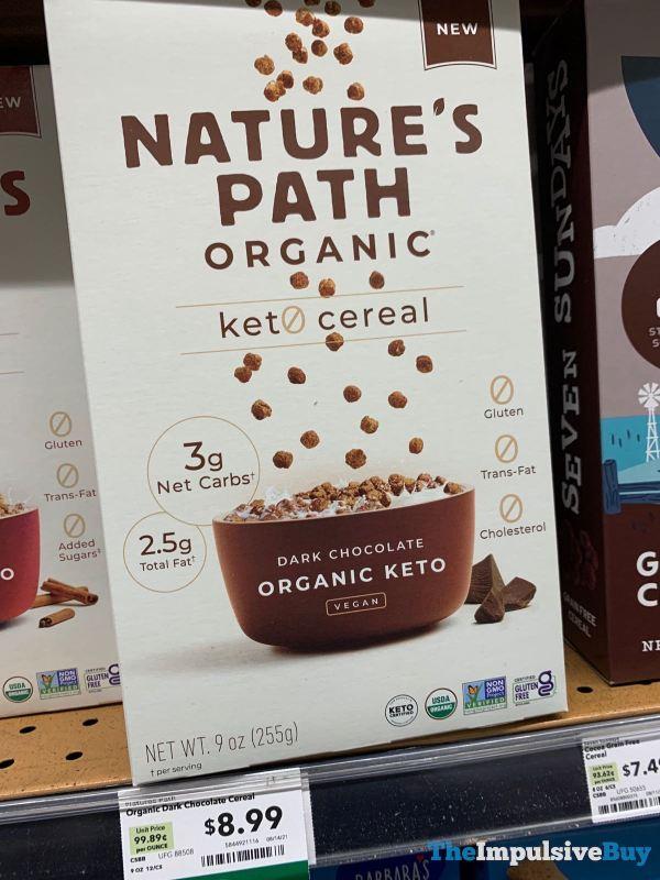Nature s Path Organic Dark Chocolate Keto Cereal