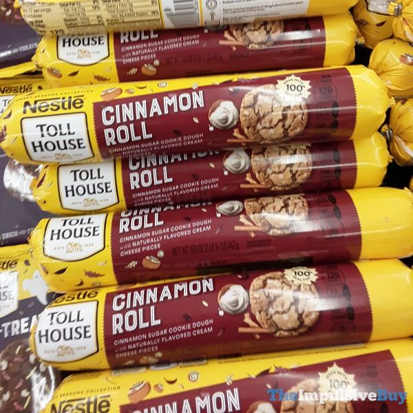 Nestle Toll House Cinnamon Roll Cookie Dough Log