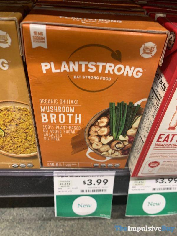 Plantstrong Organic Shiitake Mushroom Broth