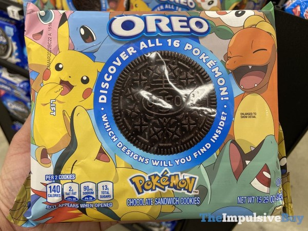 Pokemon Oreo Cookies