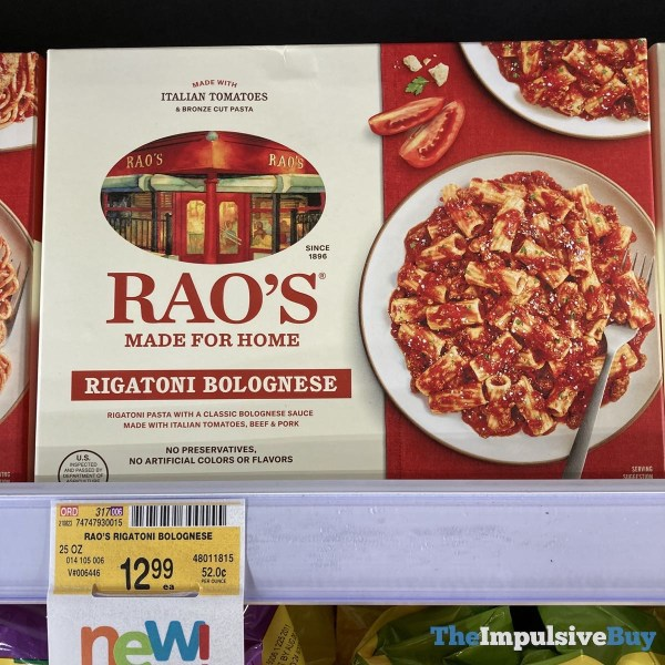 Rao s Made for Home Rigatoni Bolognese
