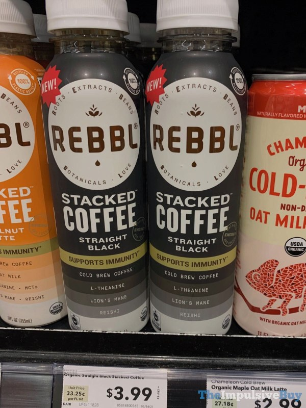 Rebbl Straight Black Stacked Coffee