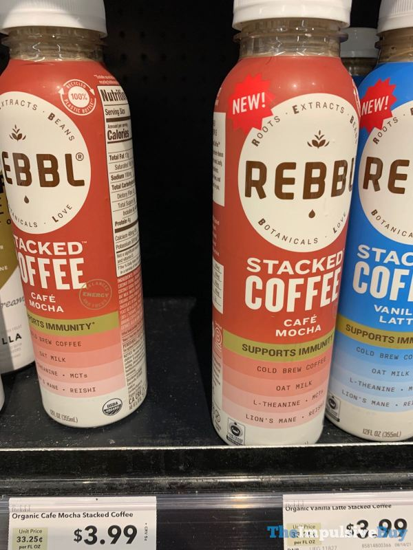 Rebbl Cafe Mocha Stacked Coffee