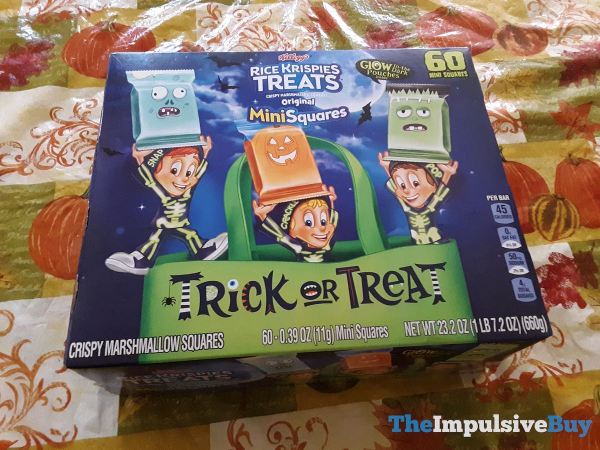 Kellogg s Rice Krispies Treats with Glow in the Dark Pouches
