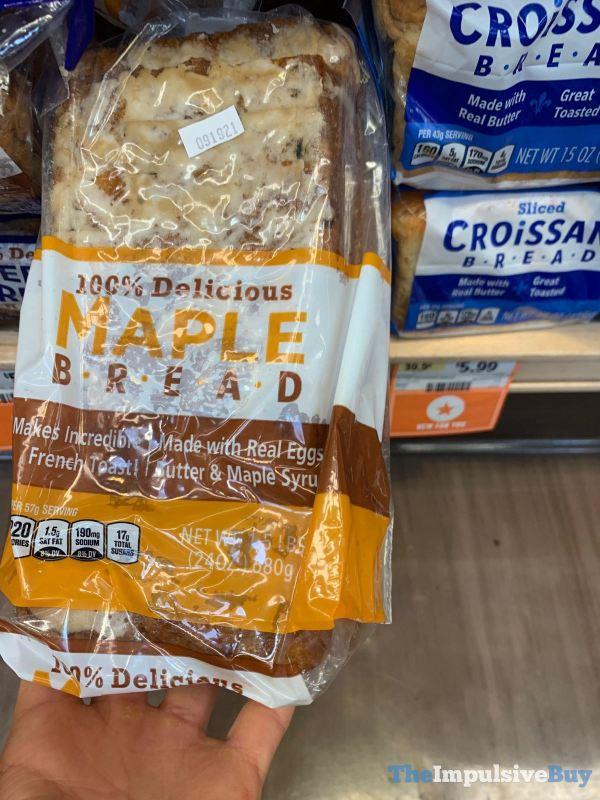 Sprouts 100 Delicious Maple Bread