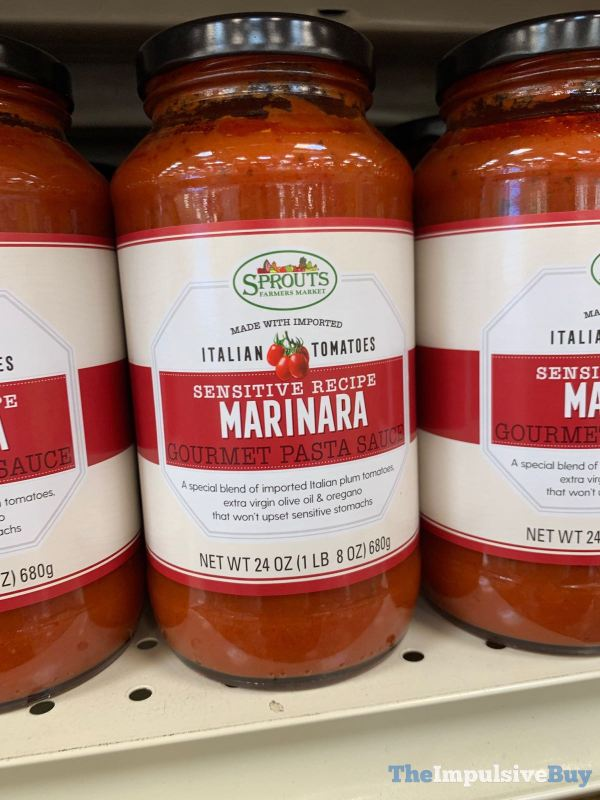 Sprouts Sensitive Recipe Marinara