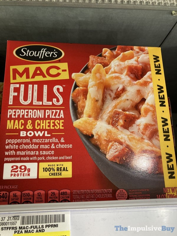 Stouffer s Mac fulls Pepperoni Pizza Mac  Cheese Bowl