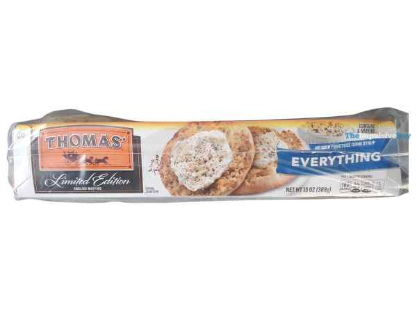 Thomas Limited Edition Everything English Muffins Package