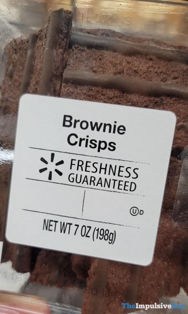 Walmart Brownie Crisps
