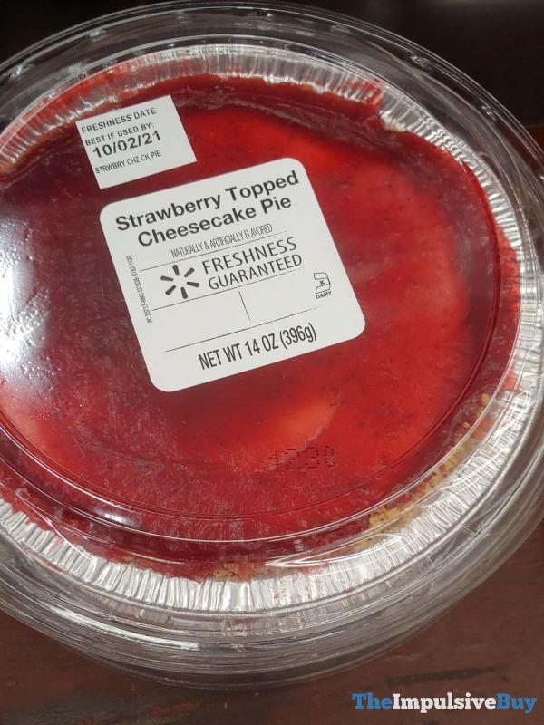 Walmart Freshness Guaranteed Strawberry Topped Cheesecake Pie