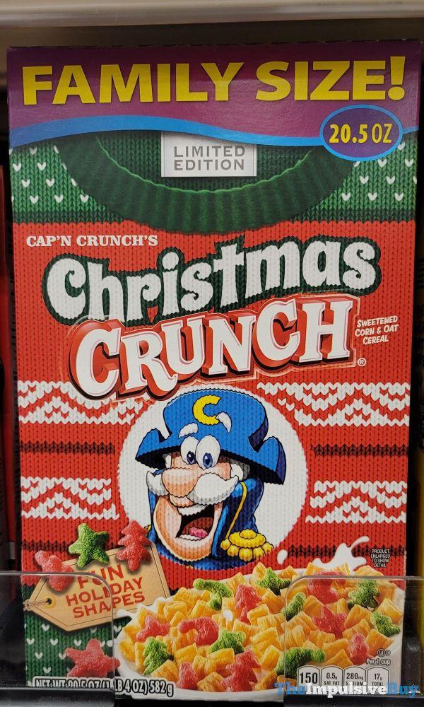 Limited Edition Cap n Crunch s Christmas Crunch