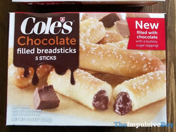 Cole s Chocolate Filled Breadsticks